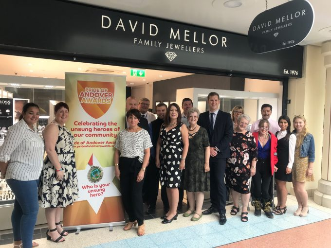 Launch of the Pride of Andover Awards 2018
