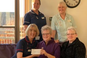 Charity's pride as community awards makes generous donation